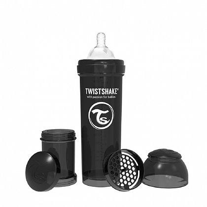 Tetero Anticolico Twistshake 11oz 330 ml Negro