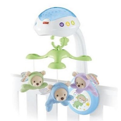 Movil Ositos Voladores con Luces Fisher Price