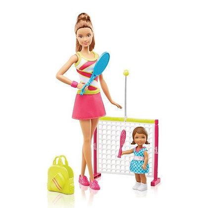 Barbie Entrenadora De Tenis Mattel