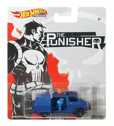 Auto Hot Wheels The Punisher Van Real Riders Marvel Original
