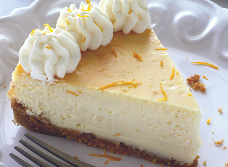 Spring recipes: Lemon Ricotta Cheesecake