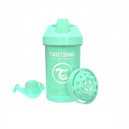 Vaso Entrenador 10oz 8m+ Twistshake Verde