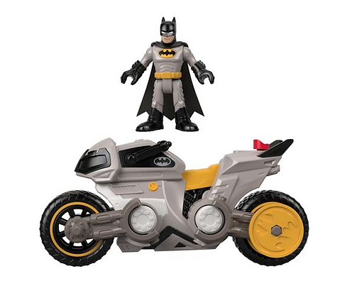 Imaginext Batman Y Batimovil Batimoto Original Mattel