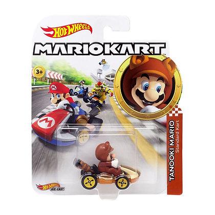 Auto Hot Wheels Mariokart Tanooki Mario Original Mattel