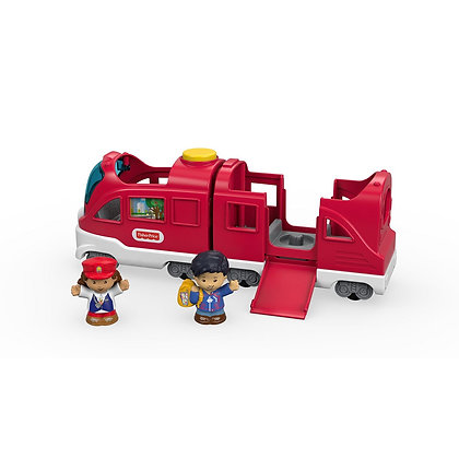 Little People Tren Pasajeros Amigables Sonidos Luces Frases