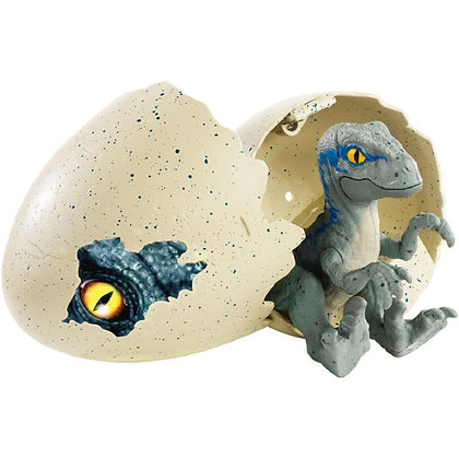 Dinosaurio Recién Nacido Velociraptor Blue Mattel