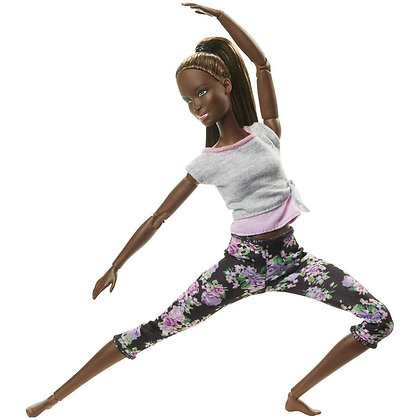 Barbie Movimientos Flexibles Mattel