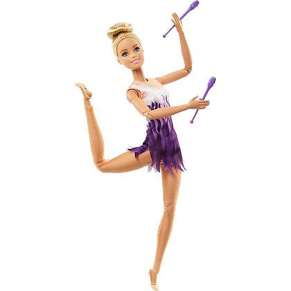 Barbie Movimientos Deportivos Gimnasta Mattel
