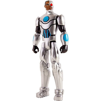 Cyborg Liga De La Justicia En Accion