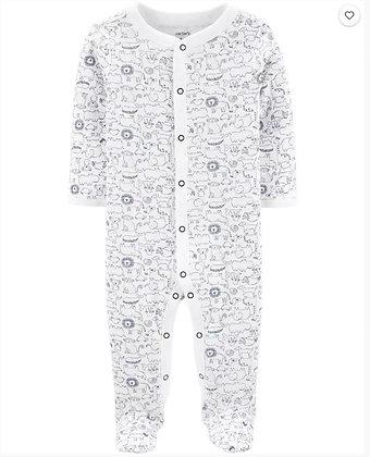 Pijama Niño Animales Blanca Carters