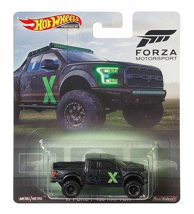 Auto Hot Wheels Forza 17ford F150 Raptor Motorsport Original
