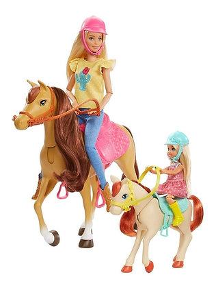 Muñeca Barbie Abrazos Y Caballos Chelsea Incluye Accesorios