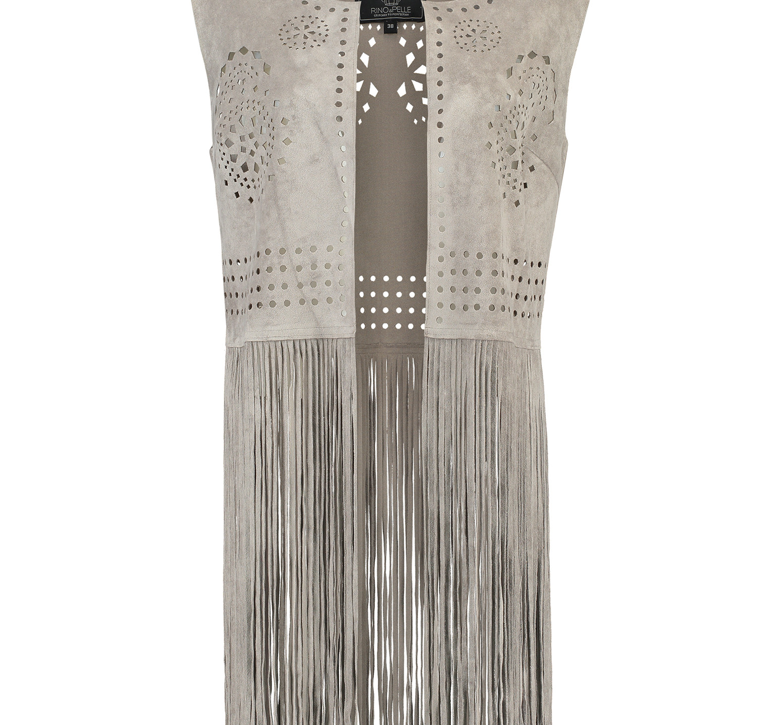 Who doesn't want to look like they're staring in an old western movie? FRINGE WAISTCOAT £74, RINO&PELLE AT VOISINS