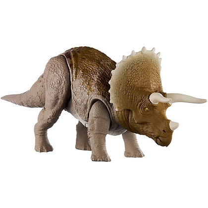 Jurassic World Dinosaurio Triceratops Primal Attack Ruge