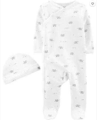 Pijama Carters 2 pcs Blanca