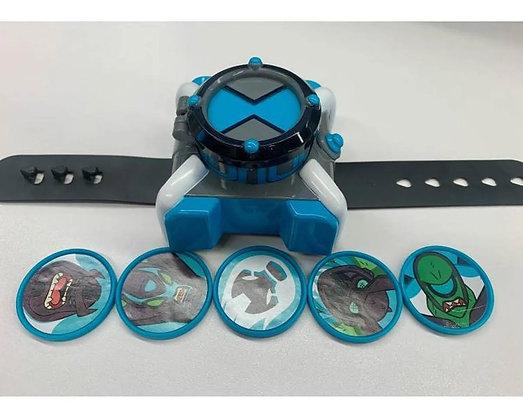 Reloj Omnitrix Ben 10 Nuevo Lanzador De Disco Juguete Azul