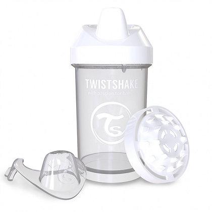 Vaso Entrenador 10oz 8m+ Twistshake Blanco