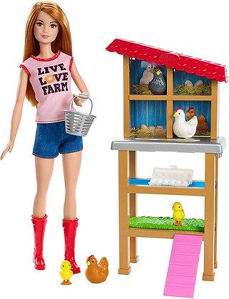 Barbie Granjera Muñeca Original Mattel