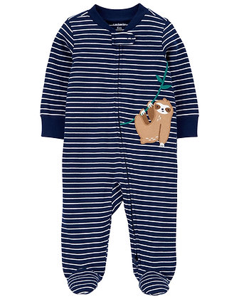 Pijama Carters Pereza Azul Marino