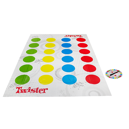Juego Didáctico Twister