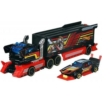 Super Remolque Hot Wheels Galactic Express1 Remolque + 1auto