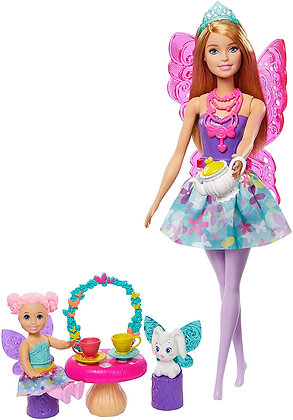 Barbie Dreamtopia Fiesta De Te Original Mattel Accesorios