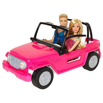 Jeep De La barbie Cn barbie Y Ken Incluidos Mattel
