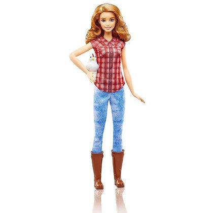 Barbie Cuidadora De Granja