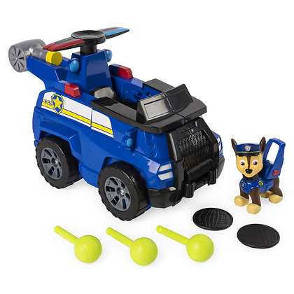 Paw Patrol Flip And Fly Transformer Chase Auto Lanzador