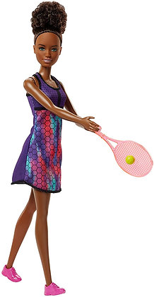 Barbie Tenista Muñeca Con Accesorios Original Mattel