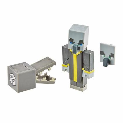 Figura Minecraft Evocador Evoker Original Mattel