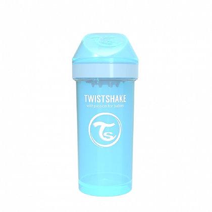 Vaso Entrenador 12oz 12m+ Twistshake Azul
