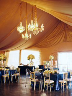 Four Mixed Crystal Chandeliers