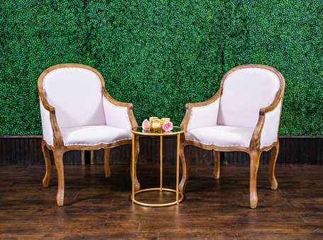 Blush Sophia Armchairs