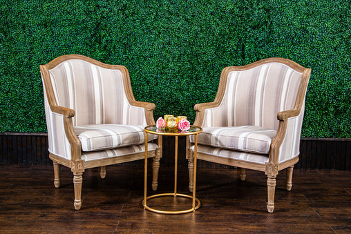 Striped Felicity Armchairs