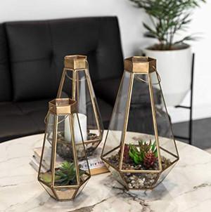 Geometric Terrarium Lanterns