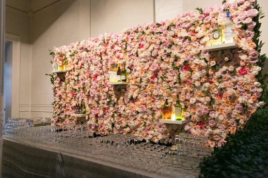 Floral Bar Back