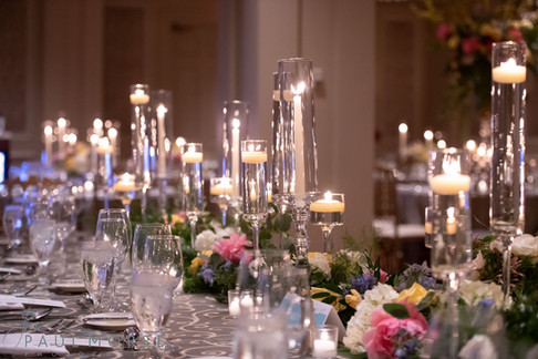 Clear Chimney Tubes, Crystal Tapers and Monet Stems