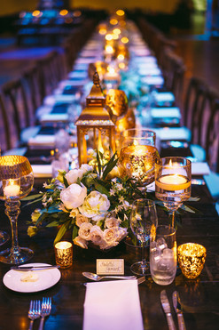 Lush Kings Table with Gold Accents
