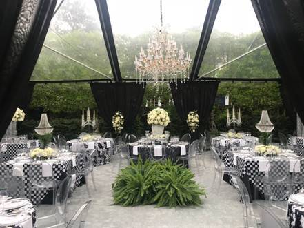 Crystal Candelabras and Table-Top Chandeliers