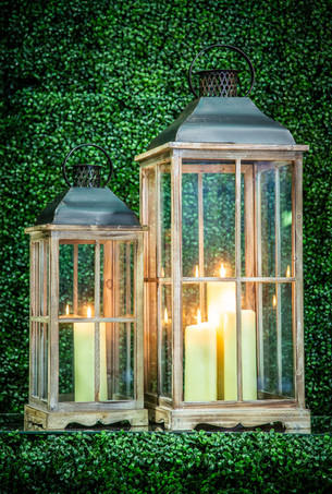 Wooden Lanterns