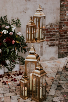 Gold Decorative Lanterns