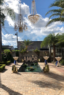 AMOR Marquee Sign