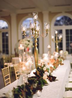 Candelabra Kings Table