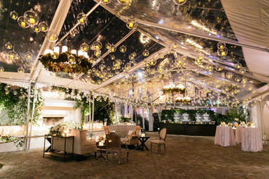 Hanging Bubbles and Pillar Chandeliers