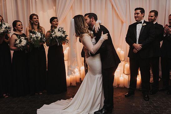 Romantic Ceremony Setting