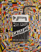 "Gasoline 2016 Acrylic on Canvas 60"" x 48"""