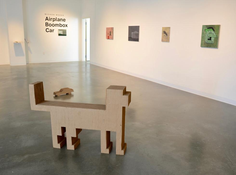 """""""Airplane, Boombox, Car"""" Rochester Art Center, 2019"""