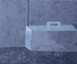 "The Boombox 2019. Acrylic on canvas, 20"" x 24"""