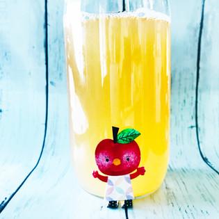 手作り・りんごジュース